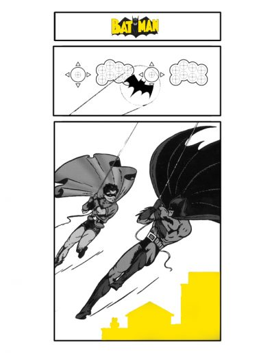 borne d'arcade rétro batman