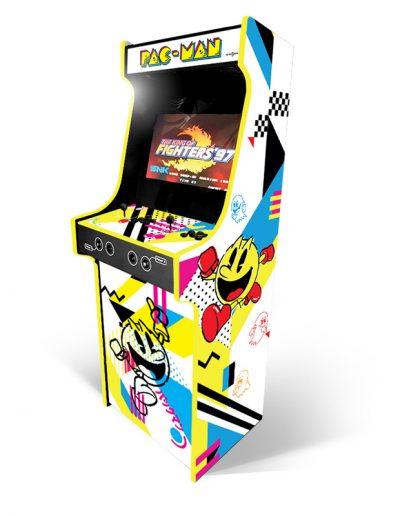 borne d'arcade personnage pacman