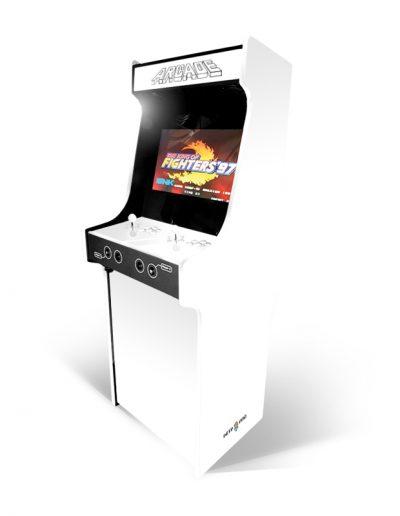 borne d'arcade blanche