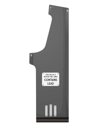 borne d'arcade imitation pompe à essence grise