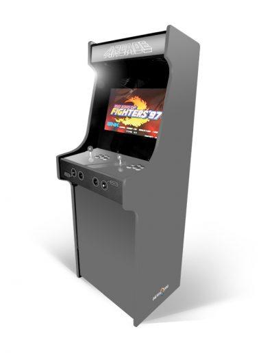 borne d'arcade couleur grise
