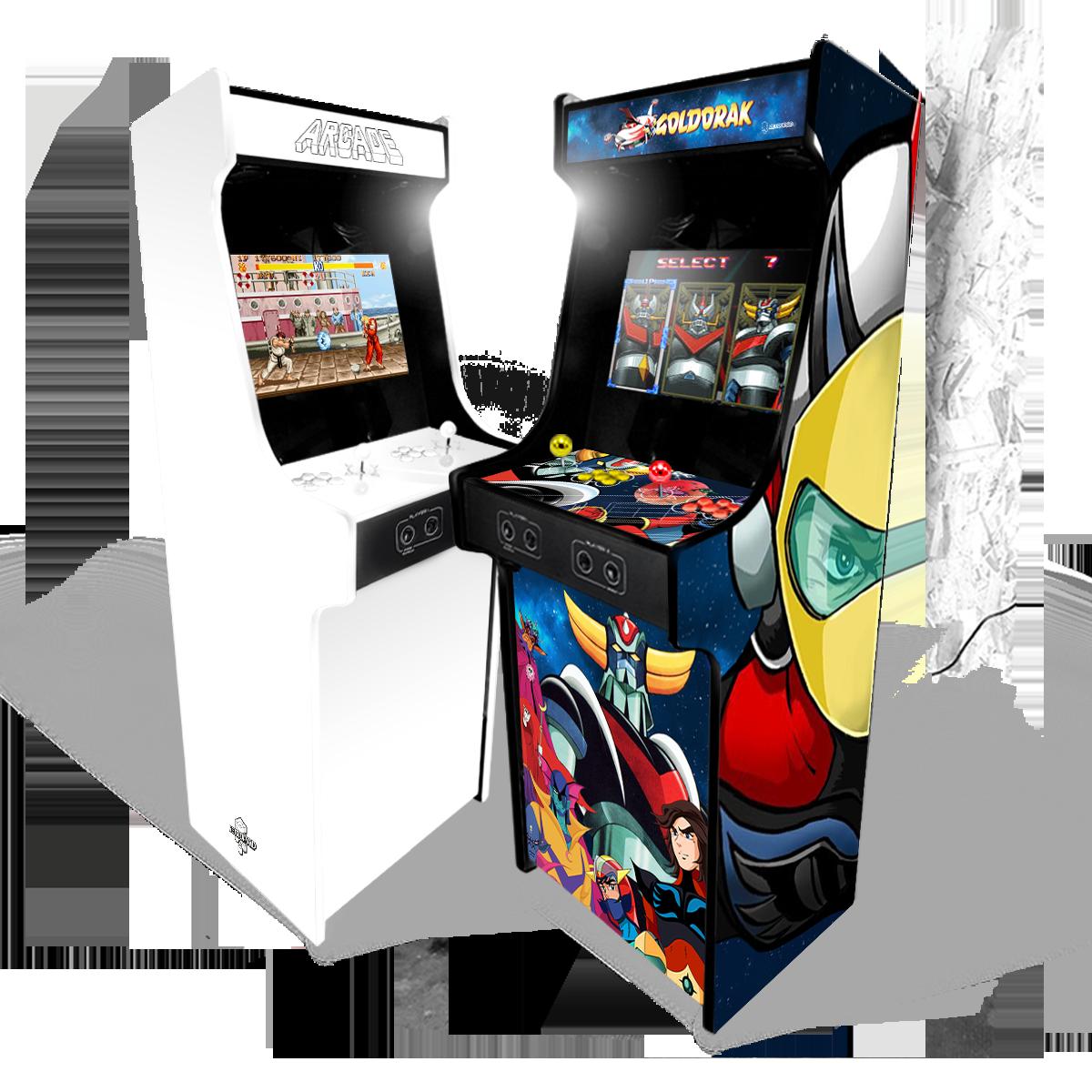 Vous avez choisi le design de votre future borne d'arcade ?